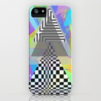 Geometric Mess iPhone & iPod Case by DuckyB (Brandi)
