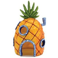 "SpongeBob SquarePants? 6"" Pineapple House Aquarium Ornament"