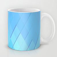 Re-Created Vertices No. 1 Mug by Robert S. Lee