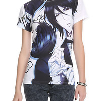 Black Butler II Sebastian And Ciel Sublimation Girls T-Shirt