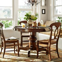 Tivoli Fixed Table & Napoleon Chair Set