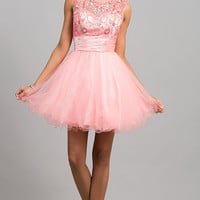 Short Sleeveless Babydoll Dress