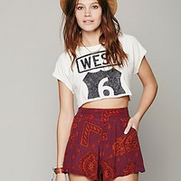 Free People Free People Sahara Printed Short