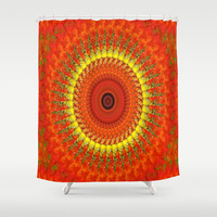 Fall Colors Shower Curtain by Laura Santeler