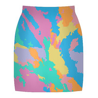 Art Map Skirt