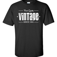 1964 Limited Edition Vintage 50th Birthday Party Shirt T-Shirt Tee Shirt T Shirt Mens Ladies Womens Funny Modern Tee B-206