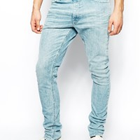 55DSL Pyrons Jeans Skinny Fit Acid Wash