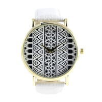 MODERN TRIBAL ART WATCH
