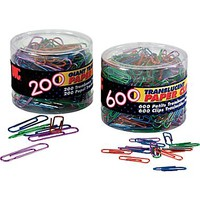OIC® Translucent Paper Clips | Staples®