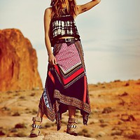 Free People Womens Bedouin Traveler Skirt -