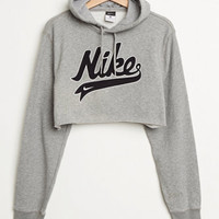 Retro Gold Nike Cropped Hoodie at PacSun.com