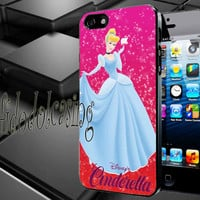 Disney Cinderella Apple Case For iPhone 4/4s, iPhone 5/5S/5C, Samsung S3 i9300, Samsung S4 i9500 *rafidodolcasing*