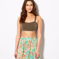 AEO Women's Soft Printed Circle Skirt