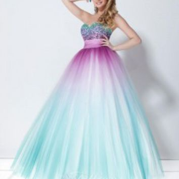 Every Girl Loves a Ball Gown: Tiffany Prom Dresses for 2013