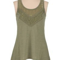 sharkbite hem tank with lace