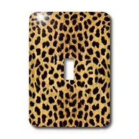 3dRose LLC lsp_20340_1 Cheetah Animal Print - Single Toggle Switch