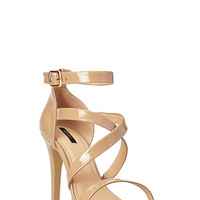 Sleek Patent Sandals