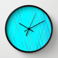 Re-Created Vertices No. 6 Wall Clock by Robert S. Lee