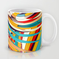 Be My World Mug by Danny Ivan