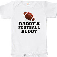 Daddy's Football Buddy Baby Bodysuit, One Piece, Baby Apparel