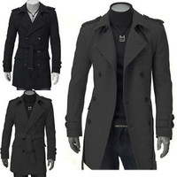 Jeansian Mens Jackets Blazer Coats Shirts Tops Outerwear Long XS S M L XL 8948