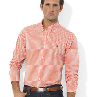 Custom-Fit Checked Sport Shirt | Lord and Taylor