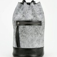 The Leather Atelier Tectonic Bucket Backpack - Urban Outfitters