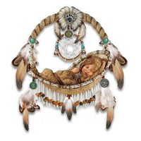 Li&#x27;l Bear Native American-Inspired Wall Decor by The Bradford Exchange