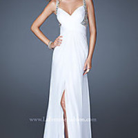 Long Sweetheart Ruched Dress