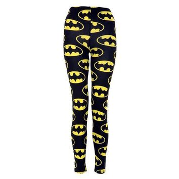 Vip Women's Full Length Batman Leggings