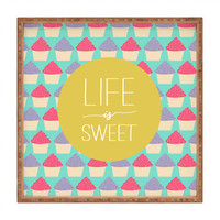 Allyson Johnson Life Is Sweet Square Tray