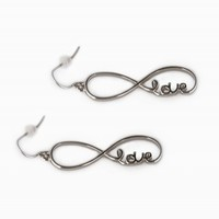 LOVE INFINITY EARRINGS