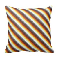 Digital Stripes pillow