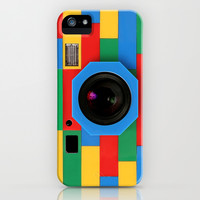 iPhone and iPod case - Classic retro full color rubik cube camera apple iPhone 3, 4 4s, 5 5s 5c, iPod & samsung galaxy s4 case cover