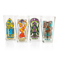 Adventurer Nouveau Pint Glasses