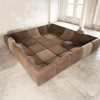 25 pc Modular 'Pool', Luxury Seating Landscape by Luigi Colani