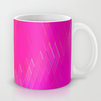 Re-Created Vertices No. 10 Mug by Robert S. Lee