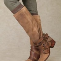 Leone Triple Buckle Boot at Free People Clothing Boutique