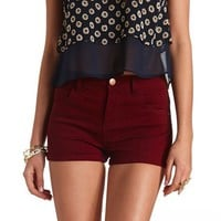 REFUGE HIGH RISE DENIM SHORTIE