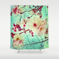 Early Blooms Shower Curtain by DuckyB (Brandi)
