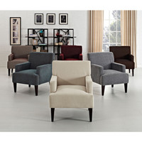 Tux Solid Accent Chair