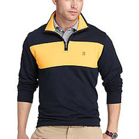 Izod Quarter- Zip French Terry Pullover