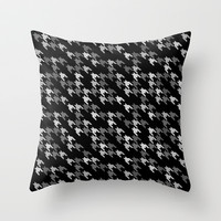 Toothless Black and White Throw Pillow by Project M
