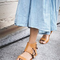 Free People Duo Stitch Sandal