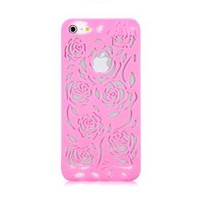 Romantic Rose Cut Out Phone Shell Case for Iphone4/4s