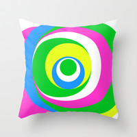 Simple Dots Series Throw Pillow by Pop E. Carp