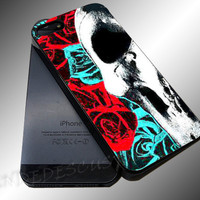 Deftones Flowers - iPhone 4/4s/5c/5s/5 Case - Samsung Galaxy S3/S4 Case iPod 4/5 Case - Black or White