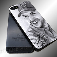 Luke Bryan Styles Vintage - iPhone 4/4s/5c/5s/5 Case - Samsung Galaxy S3/S4 Case iPod 4/5 Case - Black or White