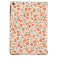 Fall Floral Pattern Apple iPad Air Cover
