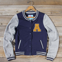The Letterman's Sweatshirt in Navy